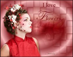 Les 5 - I love flowers