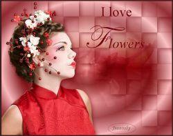 Les 5 - I love flowers