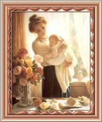 Les 7 – Mother and child