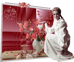 Les 7 – De dame met de rozen