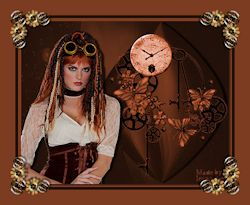 Les 8 - Steampunk lady
