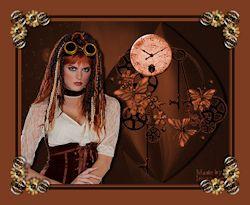 Les 8 - Steampunk lady