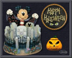 Les 8 – Halloween with Mickey