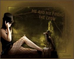 Les 9 – Me and my friend the crow