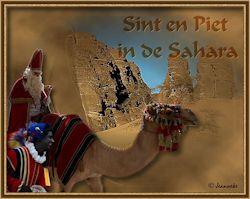 Les 23 – Sint en Piet in de Sahara