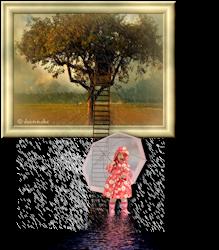 Les 25 - Little girl in the rain