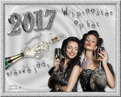 Les 27 - Wij proosten op het nieuwe jaar