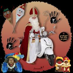 Les 40 - Sinterklaas op de scooter