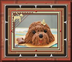 Les 54 - Birthdaycake Doggie