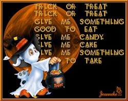 Les 58 - Trick or Treat, give me something good to eat