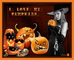 Les 65 - I love my pumpkins