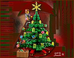 Les 56 - Kerstboom van lego