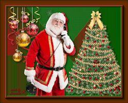 Les 60 - Santa aan de telefoon