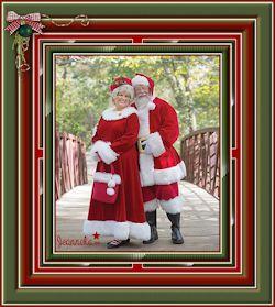 Les 65 - Portret van Mr. & Mrs. SantaClaus