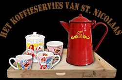 Les 55 - Het koffieservies van Sinterklaas