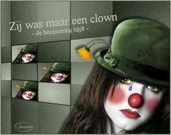 Zij was maar een clown