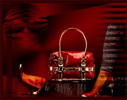New shoes and handbag