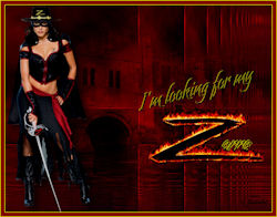 The girlfriend of Zorro